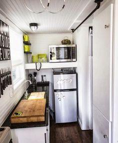 Tiny House Kitchen.