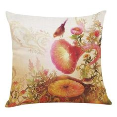 """""""Hide old pillows, don't throw them away"""" Soft Removable and Washable Handmade Cotton Linen No filling Invisible zipper Square Checkout Safe and Secured Money-Back Guarantee Note: Shipping from China is cheaper as shipping from UPS charges us more. Old Pillows, Throw Pillows, Cotton Linen, Pillow Covers, Cases, Tapestry, Artist, Nature, Handmade"""