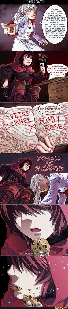 Rwby x deathnote hahahaha!!