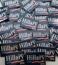 Hillary Clinton Buttons Wholesale