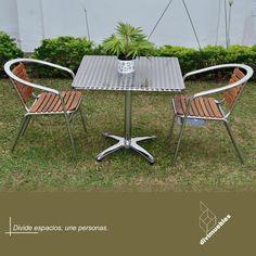 Dale un toque diferente a tus espacios y crea ambientes modernos. Outdoor Furniture Sets, Outdoor Decor, Home Decor, Environment, Spaces, Mesas, Trendy Tree, Colors, Projects