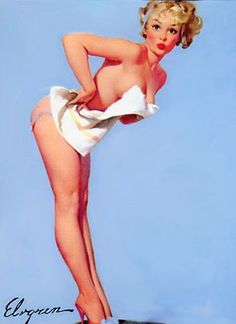 Gil Elvgren - The Right Scale 1960