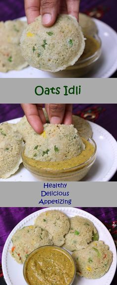 Instant Oats Idli is a healthy Indian Breakfast recipe, which is a very appetizing and easy to make. This is the best way to include oats in your diet. I have added many vegetables like carrots, green peas, beans, bell pepper. But you can add your ch Healthy Diet Recipes, Healthy Breakfast Recipes, Baby Food Recipes, Indian Food Recipes, Healthy Snacks, Vegetarian Recipes, Cooking Recipes, Healthy Indian Food, Breakfast Ideas
