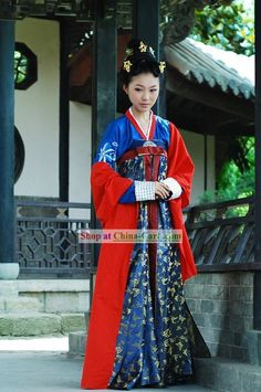 Tang Dynasty princess clothing