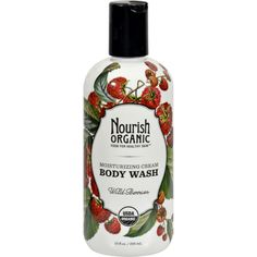 Nourish Body Wash Wild Berry - 10 fl oz - Nourish Body Wash Wild Berry Description:    Organic Food for Healthy Skin  Chemical Free Cruelty Free Concern Free  Wild Berries  USDA Organic As one of the first USDA certified organic skin care collections Nourish contains only nutrient-rich organic fruits vegetables and plant extracts guaranteed to treat even the most sensitive skin the way nature intended by nourishing it.   You can feel truly good about your daily bath or shower when you…