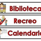This is a set of  daily schedule cards for your bulletin board or pocket chart. They are all in Spanish. Ideal for bilingual or dual language class... Dual Language Classroom, Bilingual Classroom, Bilingual Education, Spanish Classroom, Teaching Spanish, Teaching Resources, Teaching Ideas, Classroom Organization, Classroom Management