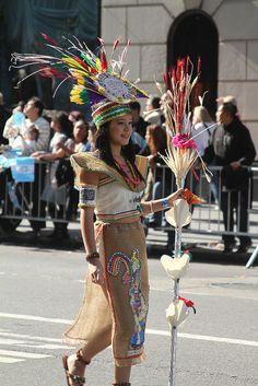 Mayan Costume by zetgem, via Flickr
