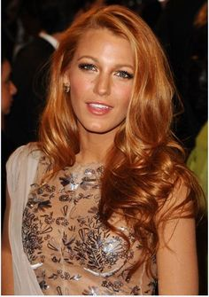 Strawberry Blonde Hair Color with Highlights | strawberry blonde hair color ideas from trends hairstyles 2014