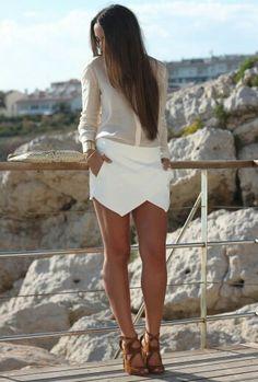 Wrap skirt & heels:Zara(Spring 13) Shirt: Zara (SS 12) Clutch:Zara (SS 12) Watch:Mango (Old)  Necklace:H&M(Old)  Bracelet:Stradivarius (SS 12)