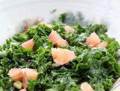 Salade kale avocat et agrumes