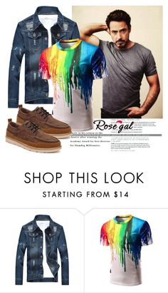 """Win $20 Cash from Rosegal!"" by lenaa-i ❤ liked on Polyvore featuring men's fashion and menswear"