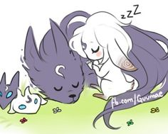 Art by: guumae #sleep#kindred#lamb#wolf#jungle#jungler#adc#marksman#bot#botlane#cute#kawaii#sleep#art#moba#lol#league#leagueoflegends#riot#riotgames#gamer#gamergirl#love#mylove by fishbones._jinx
