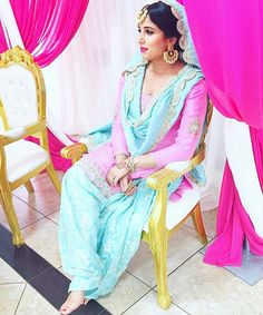 Punjabi Suit Instagram : Makeupbygur