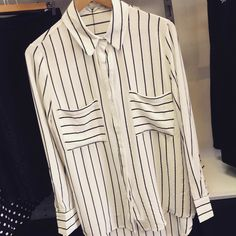 Who doesn't love a little stripe shirt  by mixitupboutique http://ift.tt/1LWgNOG
