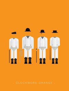 clockwork-orange-minimal-cizim-illustrasyon