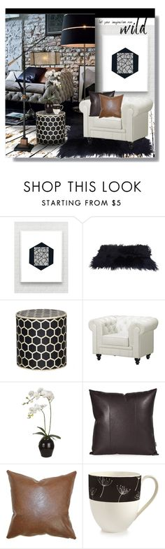 """Untitled #103"" by farmgirl2015 on Polyvore featuring interior, interiors, interior design, home, home decor, interior decorating, Zuo, Sia, Howard Elliott and Sitka"