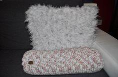 Úžitkový textil - Biely vankúš Pucci - 6044948_