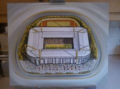 Westfalonstadion home of Borussia Dortmund @ www.sportsstadiaart.co.uk