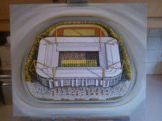 Westfalonstadion home of Borussia Dortmund @ www.sportsstadiaart.co.uk