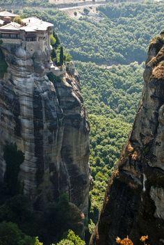 Cliff Top, Meteora, Greece photo via time