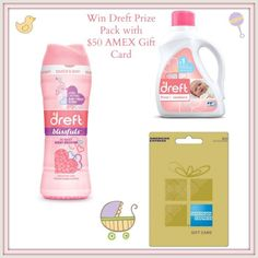 Win DREFT Baby Detergent And $50 AMEX Gift Card To Your Holiday Gifting