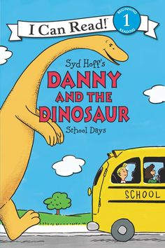 """Read """"Danny and the Dinosaur: School Days"""" by Syd Hoff available from Rakuten Kobo. Readers first fell in love with Danny and his prehistoric pal in the I Can Read classic Danny and the Dinosaur, created . New Children's Books, Great Books, Books For Beginning Readers, Quiz Names, Sounding Out Words, I Can Read Books, School Days, School Lunch, Reading Levels"""