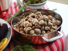 Köttbullar i ugn, Ernsts recept   Recept från Köket.se Stuffed Mushrooms, Beans, Vegetables, Breakfast, Ethnic Recipes, Food, Advent, Christmas, Drinks