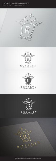 Royalty Logo by Mocca Design, via Behance