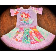 Scrappy Girl Princess Ariel Dress Find up on Facebook.