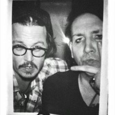 Johnny Depp and Marilyn Manson