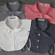 29 Styles Unisex Women Detachable Lapel Shirt Fake False Collar Choker Necklace