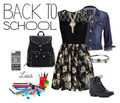 """Back to School Style"" by coolmommy44 ❤ liked on Polyvore featuring maurices, Mela Loves London, The Giving Keys, Stephen Webster, CellPowerCases, BackToSchool and back2school"
