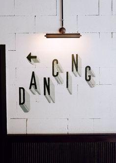 Signage at Brasserie Barbès, Paris Tanzstudio Design, Graphic Design, Logo Design, Interior Design, Wayfinding Signage, Signage Design, Branding Design, Black And White Tumblr, Dance Studio Design