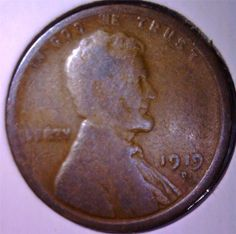 1919 D Lincoln Wheat Cent Free /& Prompt Shipping