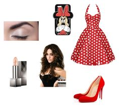 """Untitled #5"" by yumimme on Polyvore featuring Christian Louboutin, Forever 21 and Burberry"