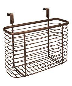 Bronze Over-Cabinet Large Basket