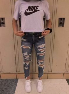 69 The cutest casual summer outfits ideas for teen girls # the Teenager Outfits casual Cutest este Girls ideas Outfits summer Teen Teenager Outfits, School Outfits For Teen Girls, Casual School Outfits, Cool Summer Outfits, Cute Teen Outfits, Cute Comfy Outfits, Teen Fashion Outfits, Mode Outfits, Freshman High School Outfits