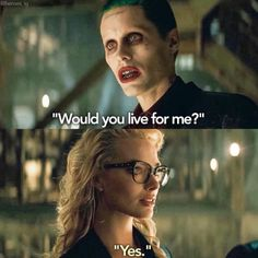 Deaths too easy. Sucide Squad Movie, Dc Comics, Joker Dark Knight, Kings & Queens, Jared Leto Joker, Angels Beauty, Daddys Lil Monster, Fantasy Love, Everyday Quotes
