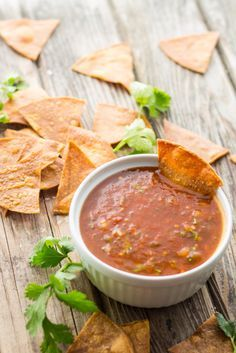 Authentic Mexican Tomato Salsa - Quick and Easy Video Recipe!