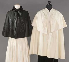 TWO VICTORIAN WOOL CAPES : Lot 0074