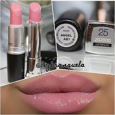 MAC Angel Dupe Maybelline Color Whisper Lust for Blush