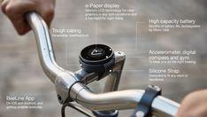 Merkabici El BeeLine es también un tipo de brújula digital, más versátil y que puede actuar como un sencillo computador para ciclismo