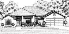 House Plan 53313 Elevation
