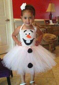 Olaf tutu costume!