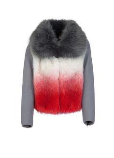 0102a4a50029d Veste femme Colmar Originals de la ligne Research en fourrure synthétique…  Esther · fourrure · Cashmere Jacket With Fur ...
