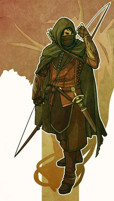 Ithilien Ranger by ~Namakox on deviantART #LOTR #LordoftheRings