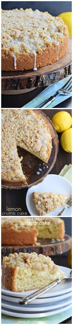 Lemon Crumb Cake - Imgur