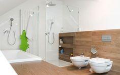 Łazienka styl Skandynawski - zdjęcie od PERA studio
