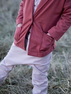 Gray Label AW15 Tied to the sea #Blush #Vintagepink #Pink #Baggypant #Pant #Oversized #Jacket #Girls #Autumn #Winter #Organic #GrayLabel