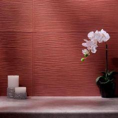 Fasade 24 in. x 18 in. Ripple PVC Decorative Tile Backsplash in Brushed Nickel-B62-29 - The Home Depot